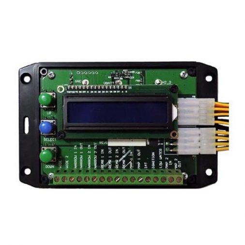 Sensor controller. EFIE, MAP, MAF. Hydrogen current controller PWM