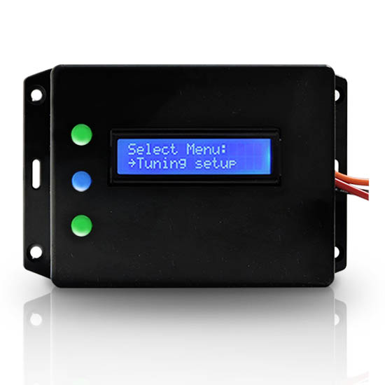 Injector controller. Hydrogen current controller PWM