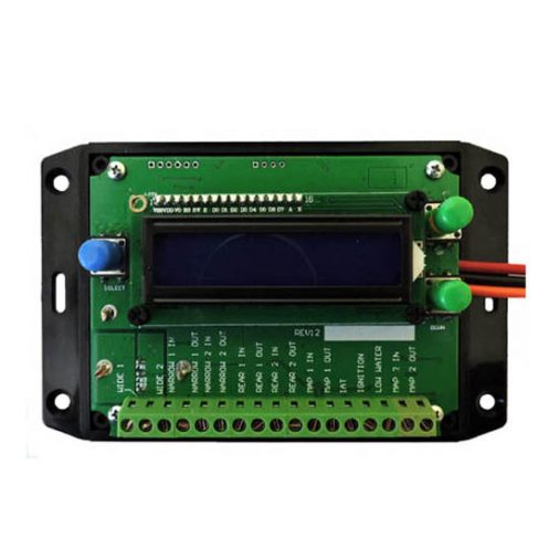 Diesel sensor controller. Oxygen sensors wideband, narrowband, MAP, MAF. Hydrogen current controller PWM